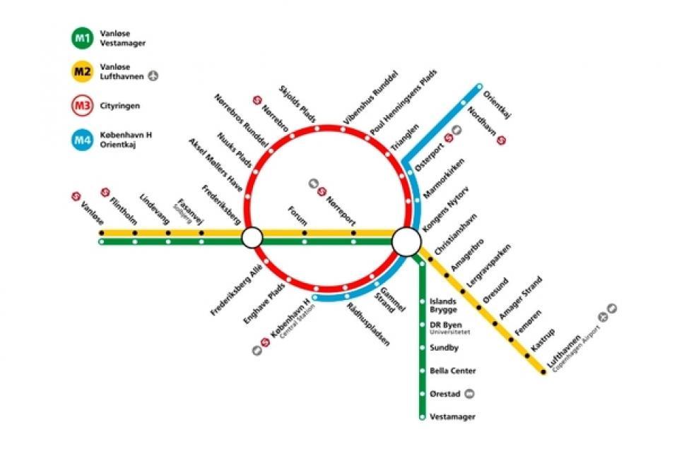 Officielt Metro Udsat Til 2019 Magasinet Kbh