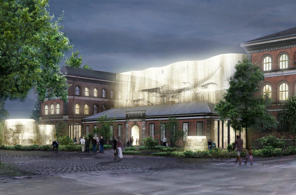 sølvgade indgang statens naturhistoriske museeum