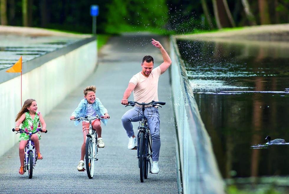 Cykel gennem vand belgien